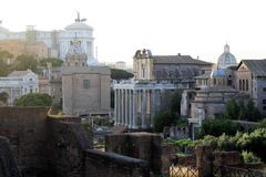 форум римский стоковое фото rf