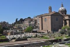 форум римский rome Стоковое Изображение