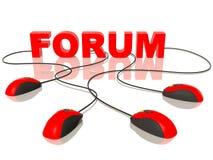 форум Стоковые Изображения RF