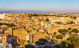 Форум Augustus в Риме, Италии стоковые изображения rf