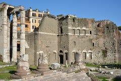 Форум Augustus в Рим Стоковое фото RF