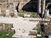 Форум Augustus в Рим стоковое фото
