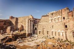 Форум Augustus в Рим стоковые фотографии rf
