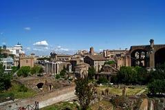 Форум Romanum Рим Италия Стоковые Фотографии RF