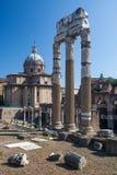 Форум Romanum Стоковая Фотография