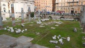 Форум Traiano, Roma, Италия видеоматериал