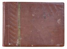 Фотоальбом крышки старый красный для фото стоковое фото rf