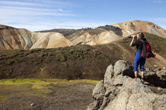 Фотографировать, Исландия стоковое фото rf