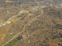 Фотографировать пока летающ наверху Стоковое Изображение