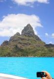 Фотографировать рай в Bora Bora Стоковые Изображения