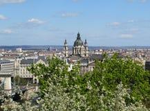 Фотография ландшафта города красоты стоковое изображение