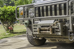 Фотография военного транспортного средства Стоковые Фотографии RF