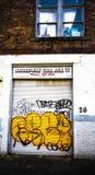 Фотография граффити Стоковое Изображение