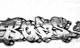 Фотография граффити Стоковые Изображения