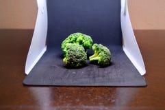 Фотография еды брокколи стоковая фотография rf