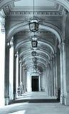 Фотография детали архитектуры аркад стоковая фотография
