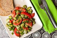 Фотография еды салата обширной фасоли Стоковое Фото