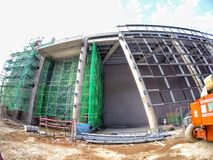 Фотография конструкции Малайзии Стоковая Фотография