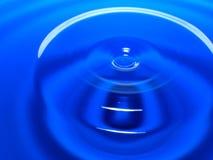 Фотография макроса падения открытого моря/падений чернил брызгает и пульсации, влажный, схематические для экологического, консерв Стоковое фото RF