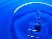 Фотография макроса падения открытого моря/падений чернил брызгает и пульсации, влажный, схематические для экологического, консерв Стоковая Фотография RF