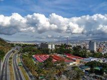 Фотография перемещения - Каракас, Венесуэла стоковое фото