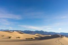 Фотография песчанных дюн Стоковая Фотография