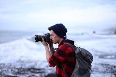 Фотография пляжа Стоковая Фотография
