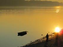 Фотография реки красоты Стоковые Изображения RF