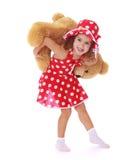 Фотография студии маленькой девочки Стоковые Фотографии RF