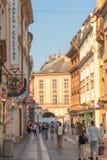 Фотография улицы Праги, чехия стоковые фото