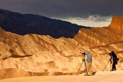фотографы звероловства светлые Стоковые Изображения RF