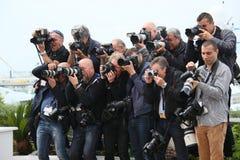 Фотографы присутствуют на присяжном photocall Стоковые Фото