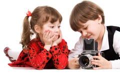 фотографы Стоковые Изображения