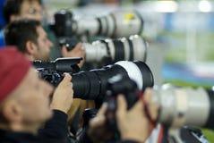 фотографы Стоковое Изображение RF