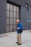 Фотограф Билла Cunningham американский в Нью-Йорке Стоковые Фотографии RF