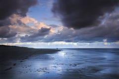 Фотограф в шторме Стоковые Фото