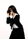 фотограф девушки Стоковая Фотография RF