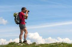 Фотограф живой природы Стоковые Изображения RF