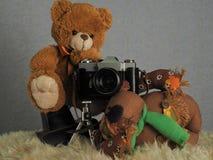 Фотограф игрушки Стоковое Изображение