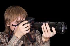 фотограф камеры Стоковые Изображения