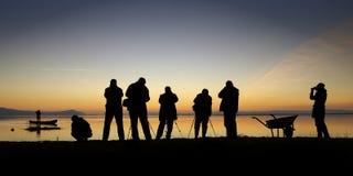 фотограф озера Стоковое фото RF