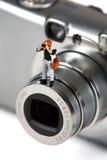 фотограф принципиальной схемы Стоковая Фотография