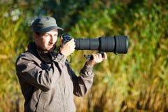 фотограф природы Стоковое Фото