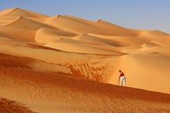 Фотограф дюны Стоковые Изображения RF