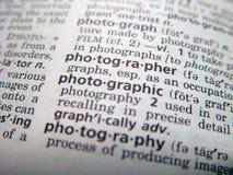 фотограф Стоковые Изображения RF