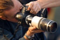 фотограф Стоковые Фотографии RF