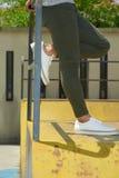 Фотомодель, люди, джинсы Стоковая Фотография RF