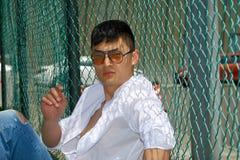Фотомодель, люди, рубашка Стоковые Фотографии RF