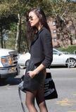 Фотомодель Juana Burga во время недели моды Нью-Йорка Стоковое Изображение RF