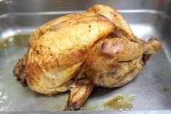 Фотоснимок жареного цыпленка Стоковые Фото